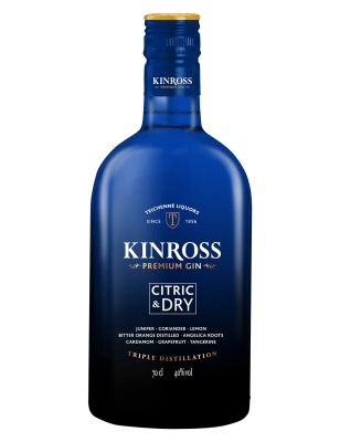 Kinross Gin Citric and Dry Gin