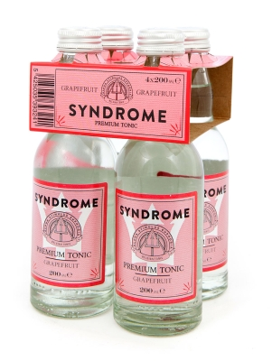 SYNDROME GRAPEFRUIT TONIC WATER 4x20cl