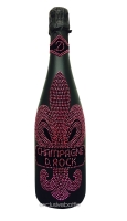 Champagne D. Rock Rosé is produc...