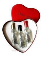 Chopin Vodka in 3 mini bottles i...